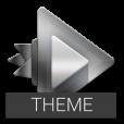 Chrome Theme - Rocket Player
