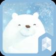 곰돌이의 겨울 라이브 런처플래닛 테마