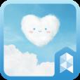 하트구름 런처플래닛 테마