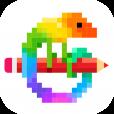 Pixel Art - 숫자로 색칠하기 책