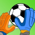 Goalkeeper Duel - One Screen 2 Players soccer game
