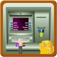 비트 코인 현금 ATM 은행 시뮬레이션하다