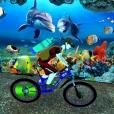 Underwater Crazy Bicycle Race