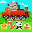아기 열차 게임 - 퍼즐, 색칠, 운전