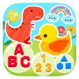 유아 영어 문자 ABC 색상 번호 및 모양