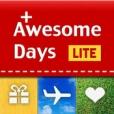 어썸데이즈 라이트 (Awesome Days Lite) - 디데이, 기념일 계산