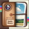 InstaStory HD - 인스타스토리- 사진 편집,이쁜 사진 꾸미기 , 텍스트 , 스티커 넣기 , 사진 공유하기, 프레임 합치기 , 합성 하기