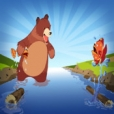 Grizzly Rapids : Chasing Yello Fish - Hunting game