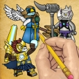How To Draw : Lego Chima