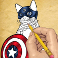 How To Draw Cats With Superpowers